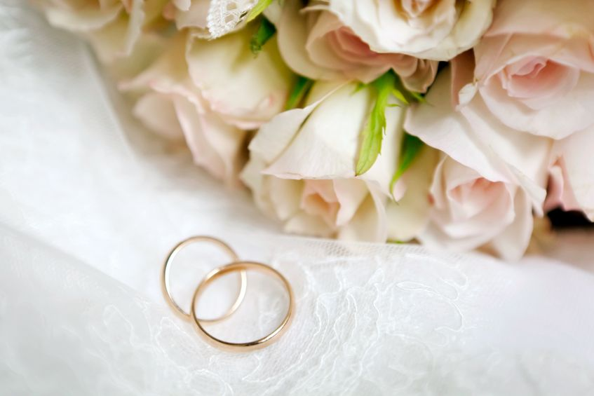 11792801 - this is closeup of wedding bouquet
